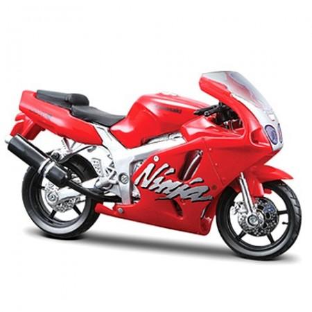 Motocicleta Kawasaki Ninja ZX-7R 1/18 Bburago