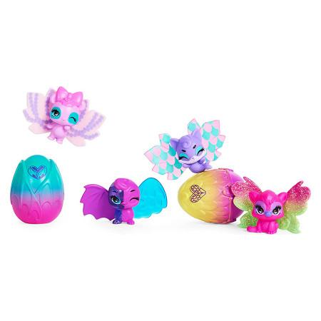 Set 4 figurine Hatchimals CollEGGtibles Wilder Wings