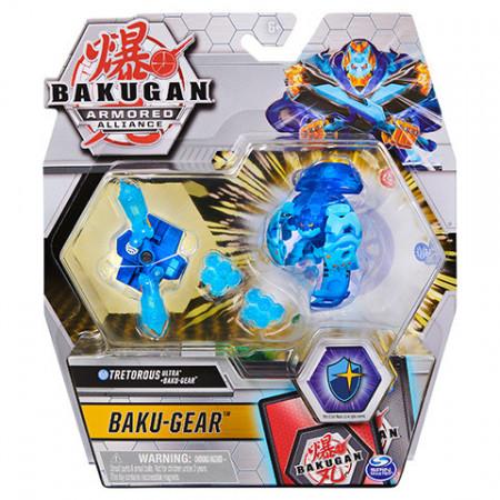 Set Bakugan Armored Alliance Baku-Gear figurina Tretorous Ultra