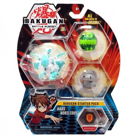 Set Bakugan Start figurina Haos Nobilious