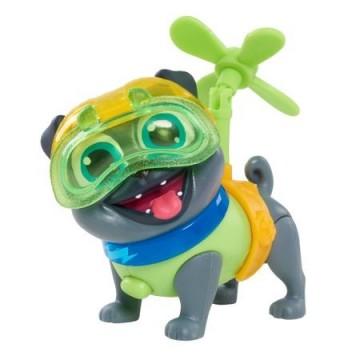 Set de joaca Figurina Bingo cu lumini si accesorii Puppy Dog Pals - Prietenii Catelusilor Disney Jr.