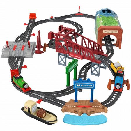 Set de joaca Thomas & Friends Vorbaretii Thomas si Percy in Insula Sodor