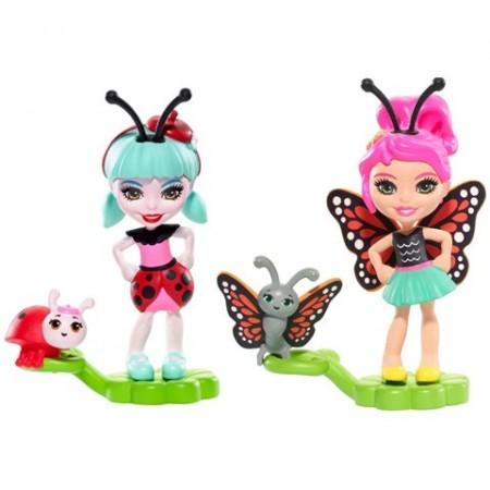 Set figurine Ladelia Ladybug şi Baxi Butterfly- EnchanTimals