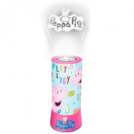 Lampa LED cu proiector Peppa Pig