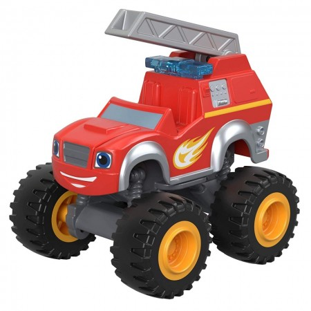 Masinuta metalica Blaze cu macara Fire Rescue- Blaze and the Monster Machines