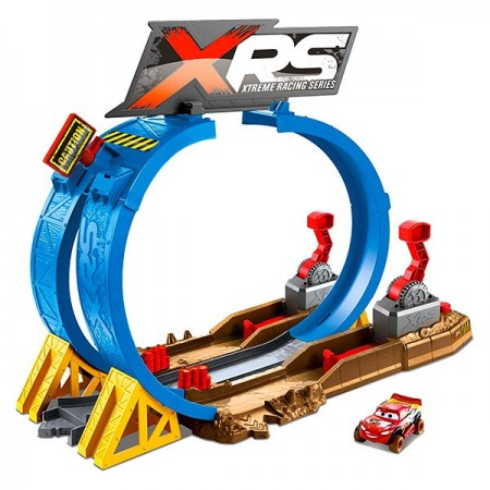 Set de joaca pista Crash Challenge XRS Mud Racing Cars 3