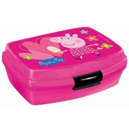 Cutie de pranz roz Peppa Pig