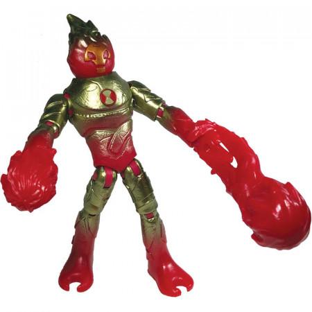 Figurina articulata Ben 10 Heatblast Omni-Metallic