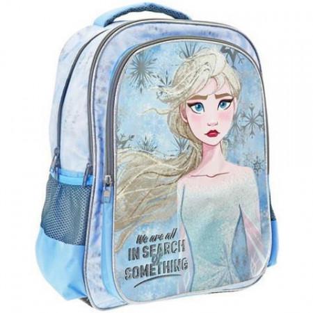 Ghiozdan ergonomic Elsa Frozen, 3 compartimente