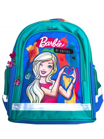 Ghiozdan ergonomic scoala Barbie Be Unique 38 cm