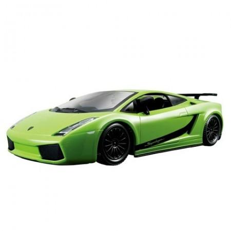 Masinuta Lamborghini Gallardo Superleggera Verde 1/24 Bburago