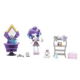 Poze Minis Rarity Petrecere in Pijamale My Little Pony Equestria Girls