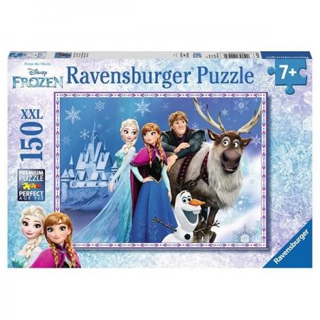 Puzzle 150 piese Elsa, Anna si Kristoff - Frozen