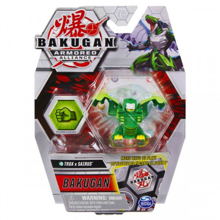 Set Bakugan Armored Alliance figurina Trox x Sairus