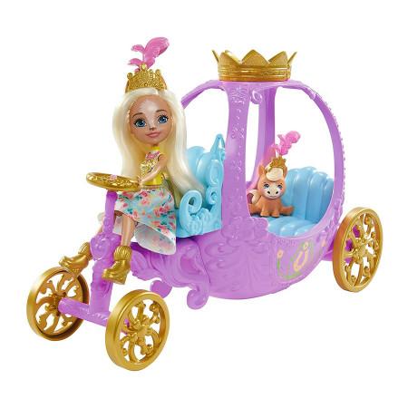 Set de joaca Peola Pony si Caleasca regala Enchantimals Royal