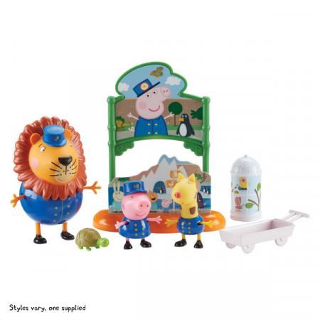Set de joaca Peppa Pig - O zi la gradina zoologica