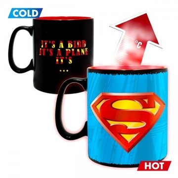 Cana termosensibila Superman 460 ml
