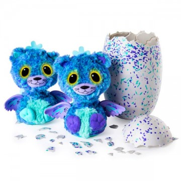 Hatchimals Surprise jucarii de plus interactive gemeni Peacat