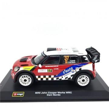 Masinuta Mini John Cooper Works WRC Pierre Campana 1/32 Bburago Street Fire