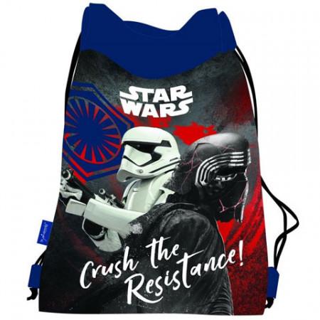 Sac de umar cu snur Star Wars Crush the Resistance 44 cm