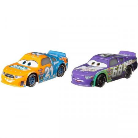 Set 2 masinute metalice Speedy Comet si Parker Brakeston Disney Cars