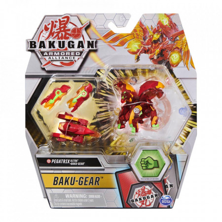 Set Bakugan Armored Alliance Baku-Gear figurina Pegatrix Ultra