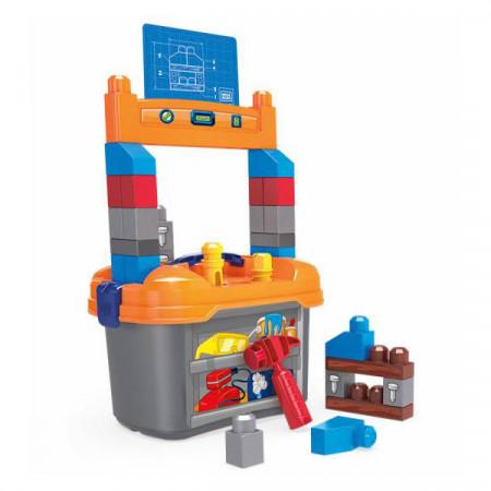 Set de constructie Mega Blocks - Banc de lucru