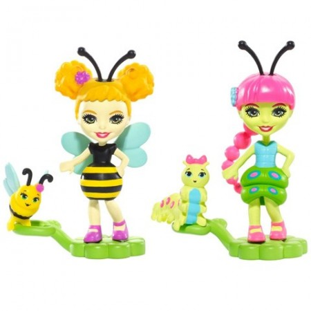 Set figurine Cay Caterpillar si Beetrice Bee- EnchanTimals