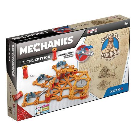 Set Geomag Mechanics - Leonardo da Vinci - Tunul magnetic