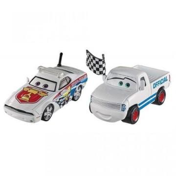Set 2 Masinute Kris Revstopski & Pat Traxson Disney Cars