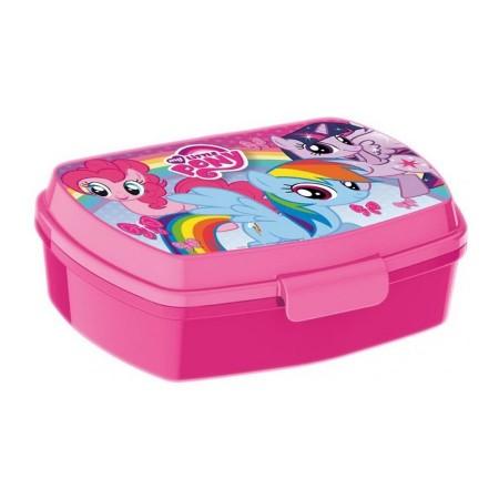 Cutie de pranz roz My Little Pony