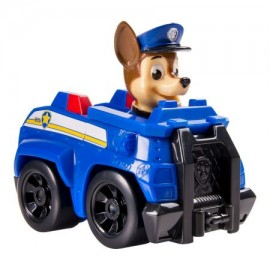 Figurina Chase in vehicul de politie Patrula Catelusilor