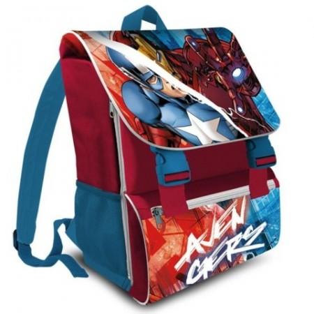 Ghiozdan Captain America si Iron Man Avengers