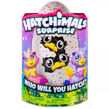Poze Hatchimals Surprise jucarii de plus interactive gemeni Giraven