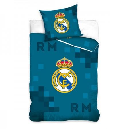 Lenjerie de pat din 2 piese FC Real Madrid