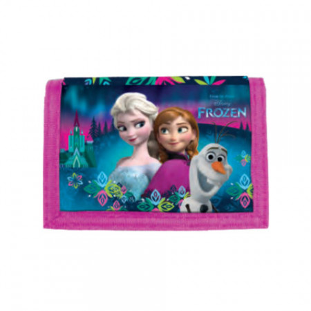 Portofel roz Elsa si Anna Frozen