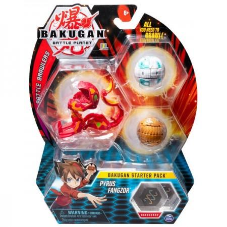 Set Bakugan Start figurina Pyrus Fangzor