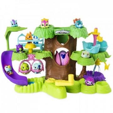 Set de joaca Gradinita din copac Hatchimals Colleggtibles