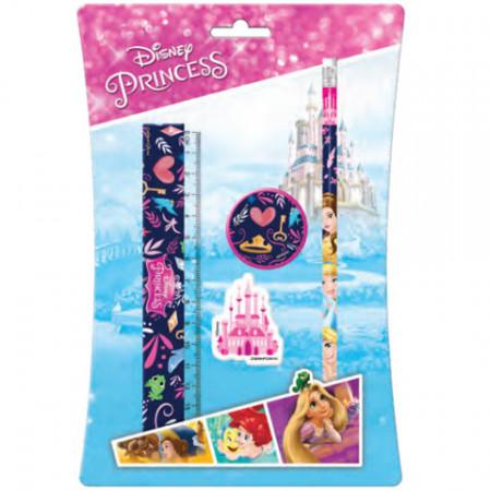 Set papetarie 4 bucati Printesele Disney