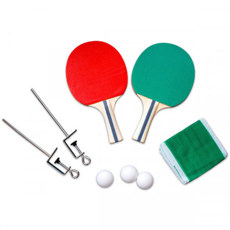 Set ping-pong cu palete si fileu