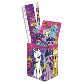 Set instrumente de scris in suport My Little Pony