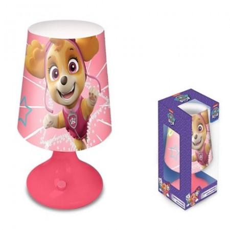 Lampa de masa 18 cm roz Skye Patrula Catelusilor