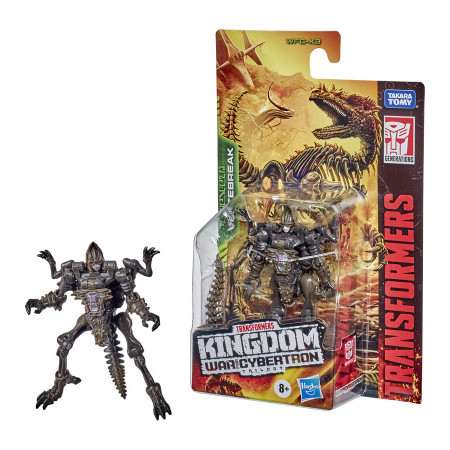 Figurina transformabila Transformers Kingdom War for Cybertron - Vertebreak