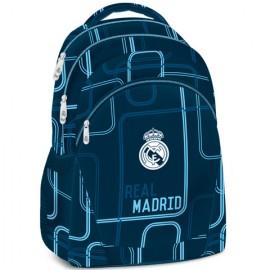 Ghiozdan Ergonomic Scoala Real Madrid Future cu 3 compartimente 47 cm