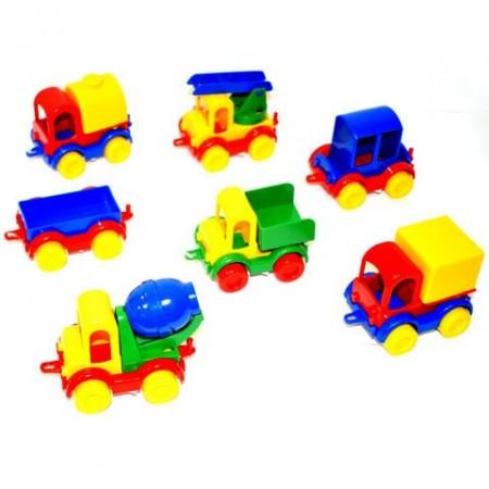 Masinuta Kids Cars 3 in 1 Wader 12 cm