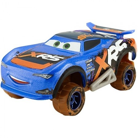 Masinuta metalica Barry DePedal Mud Racing XRS Disney Cars 3