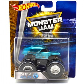 Masinuta NEA Police Monster 1/64 Hot Wheels Monster Jam