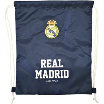 Sac de umar Real Madrid albastru 38 cm