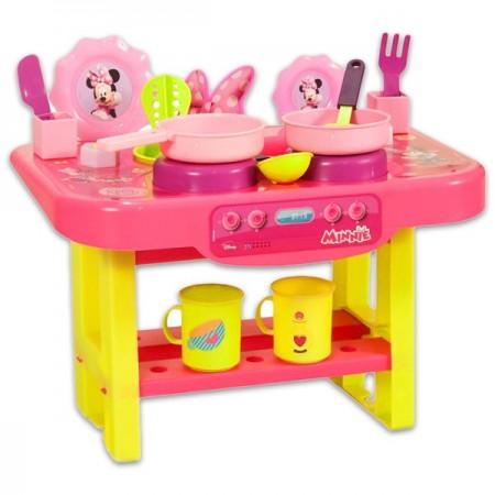 Set bucatarie cu 12 accesorii Minnie Mouse