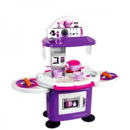 Set bucatarie mov Chefs cu 26 accesorii